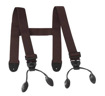 Proline Brown Wader Suspenders #wsb